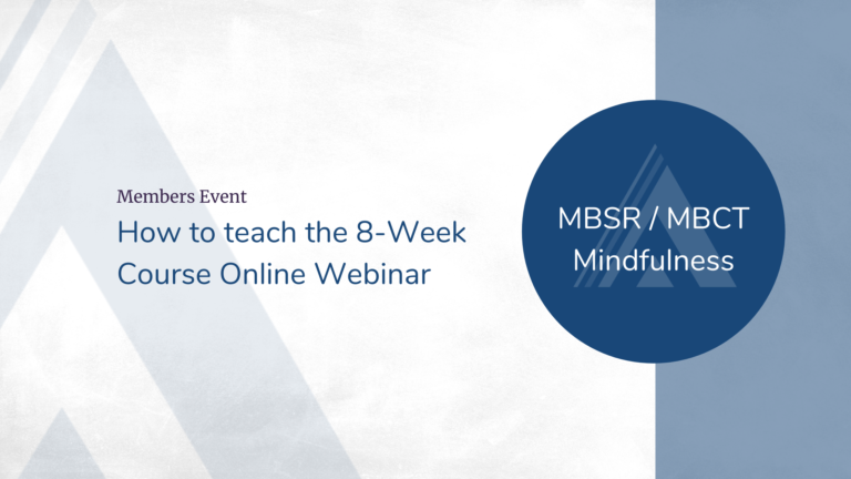How to teach the 8-Week Course Online Webinar