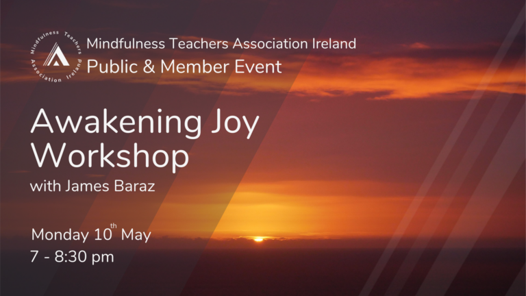 Awakening Joy Workshop - May 10th 2021
