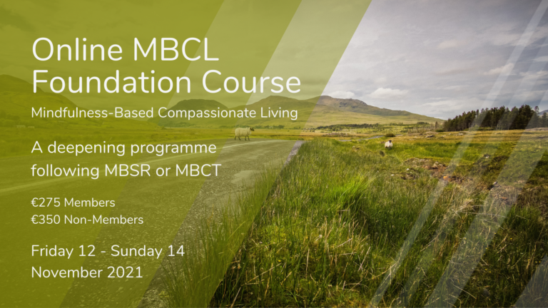 Online MBCL Foundation Course for mindfulness teachers and other professionals